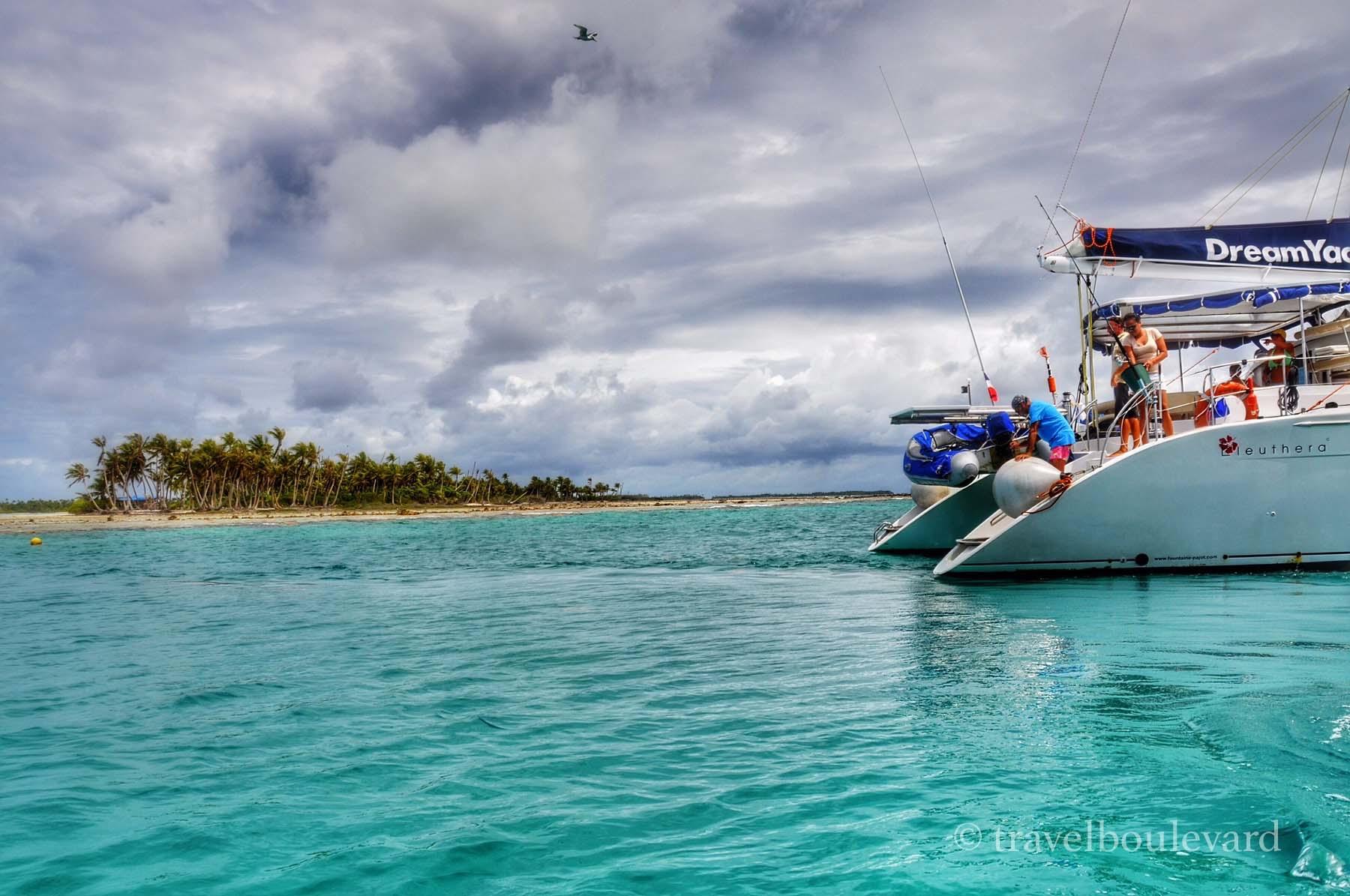 tahiti boating