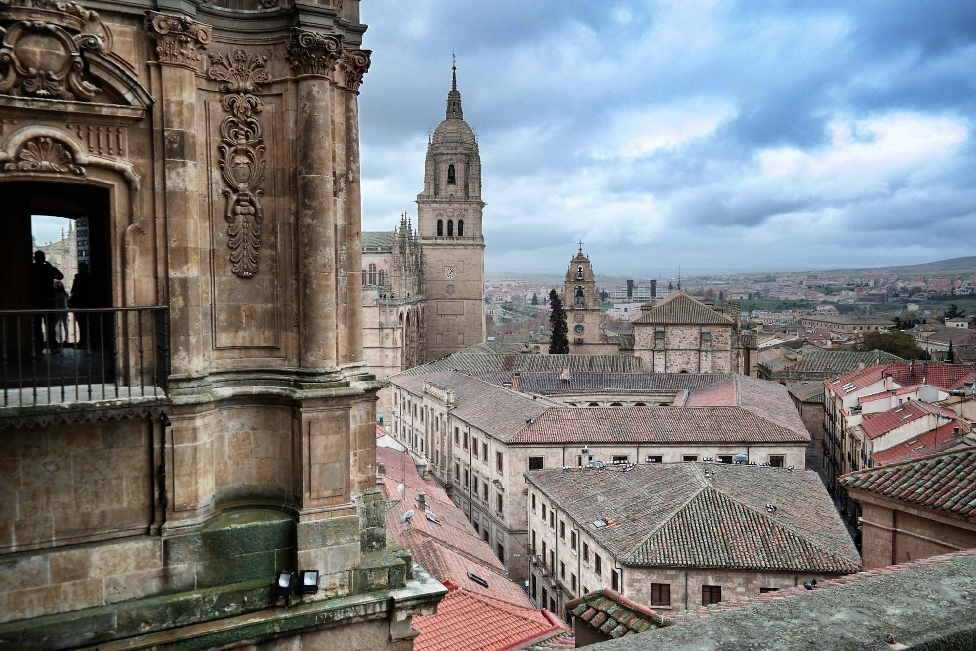 Salamanca, view from clocktower