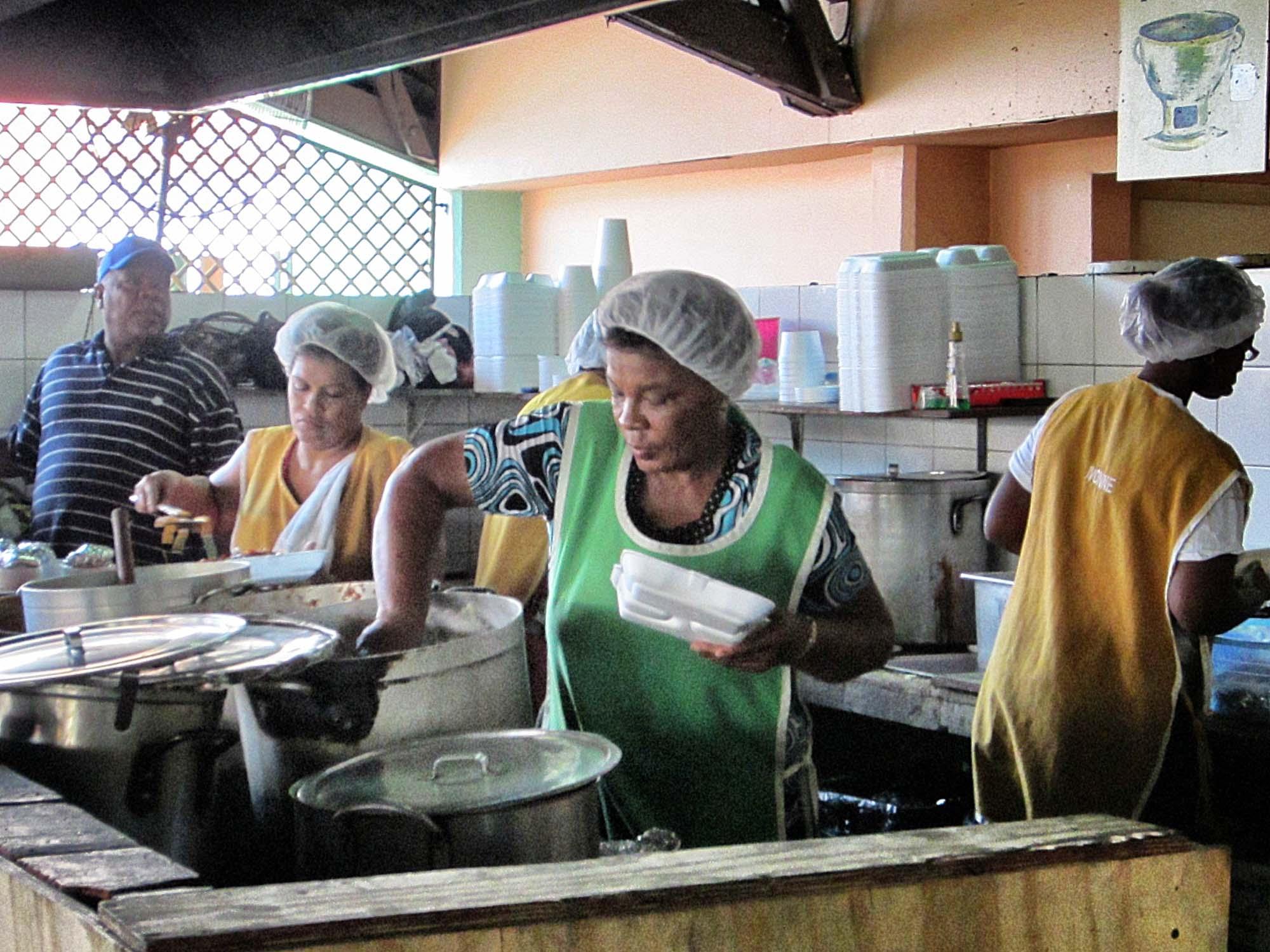 Marshe Bieu in Curacao