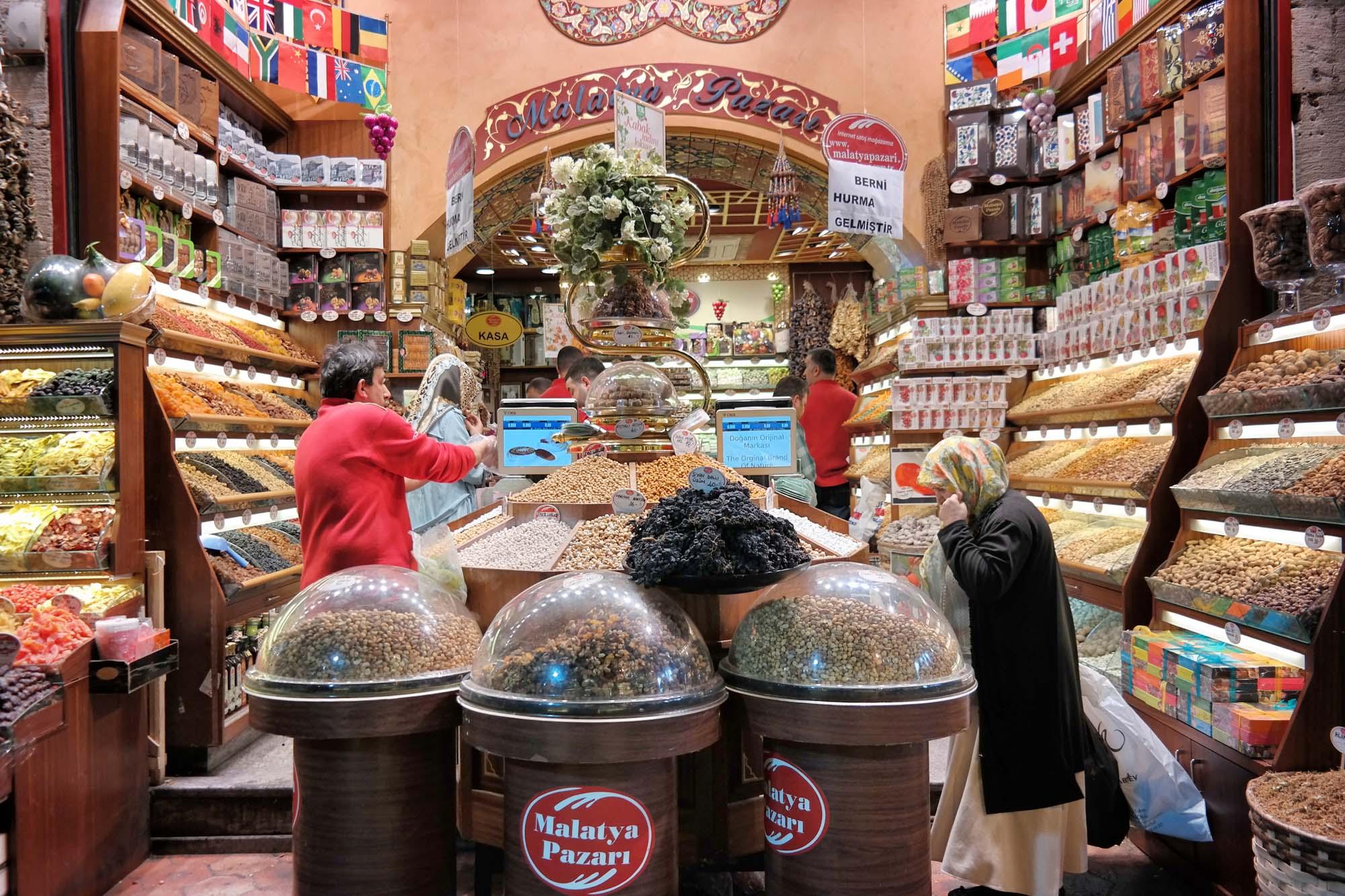 istanbul bazaar spice