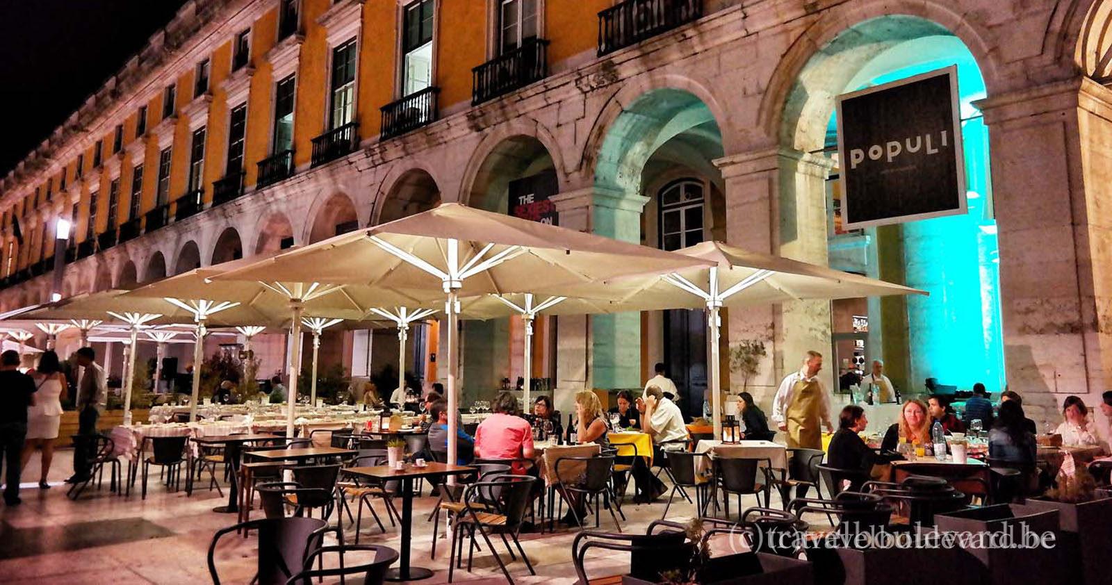 Lisbon restaurant populi