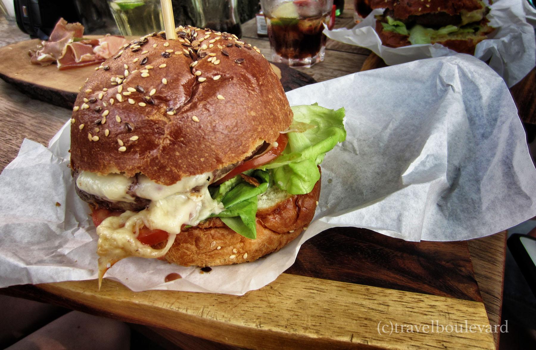 originele hamburger recept