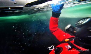 Tried & tested: ice diving in Tignes