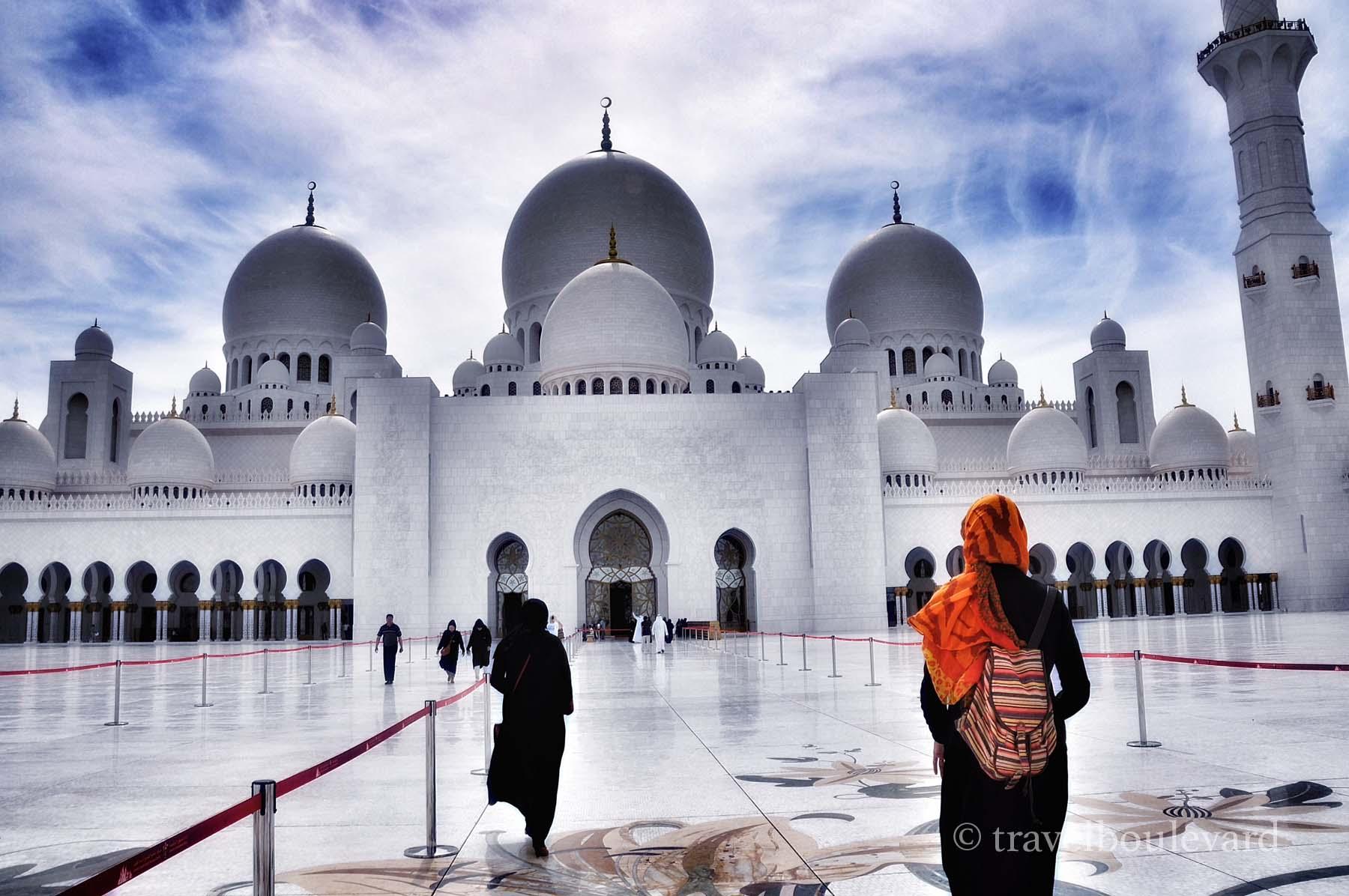 abu dabi moskee
