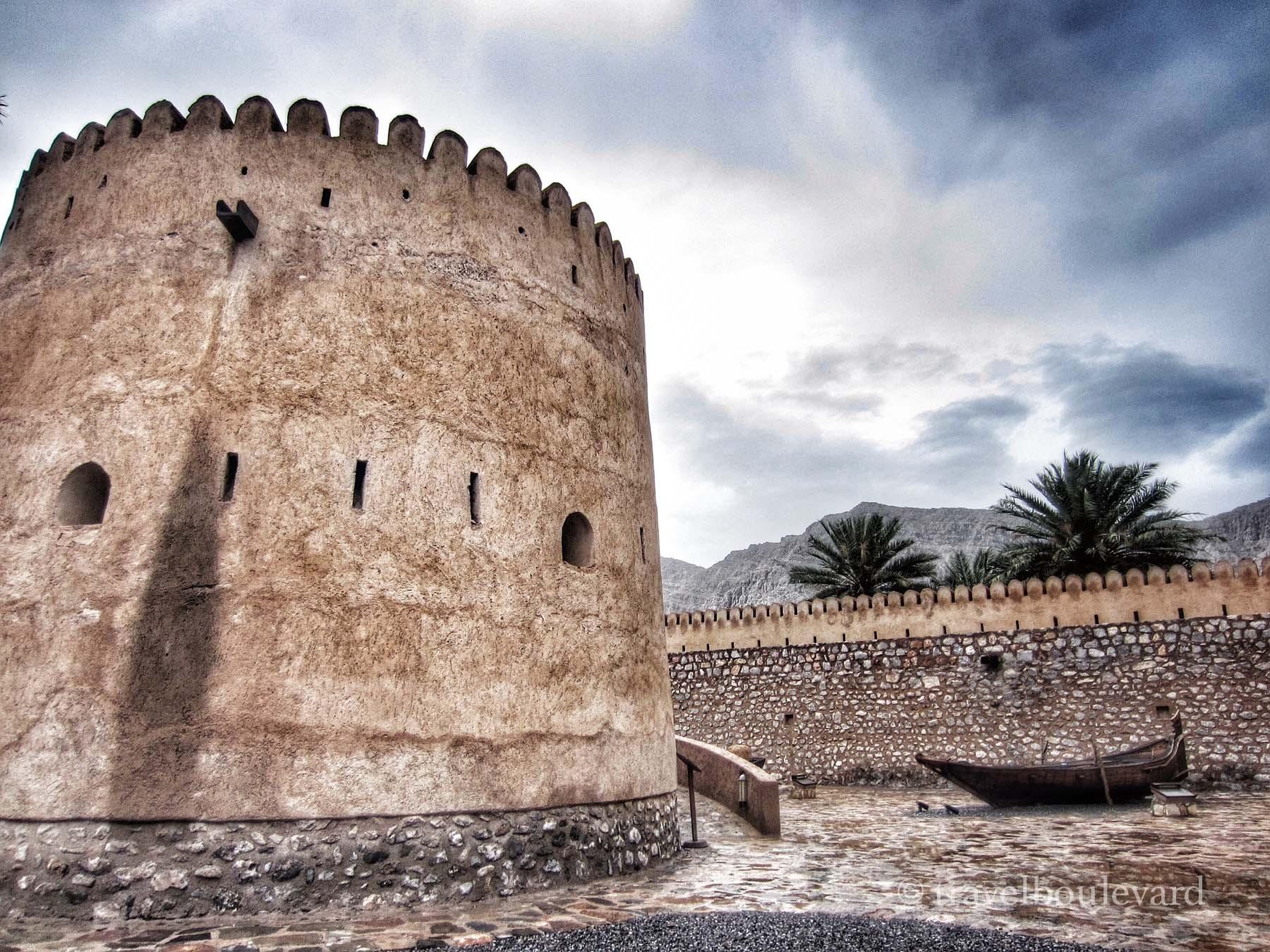 Oman Khasab fort