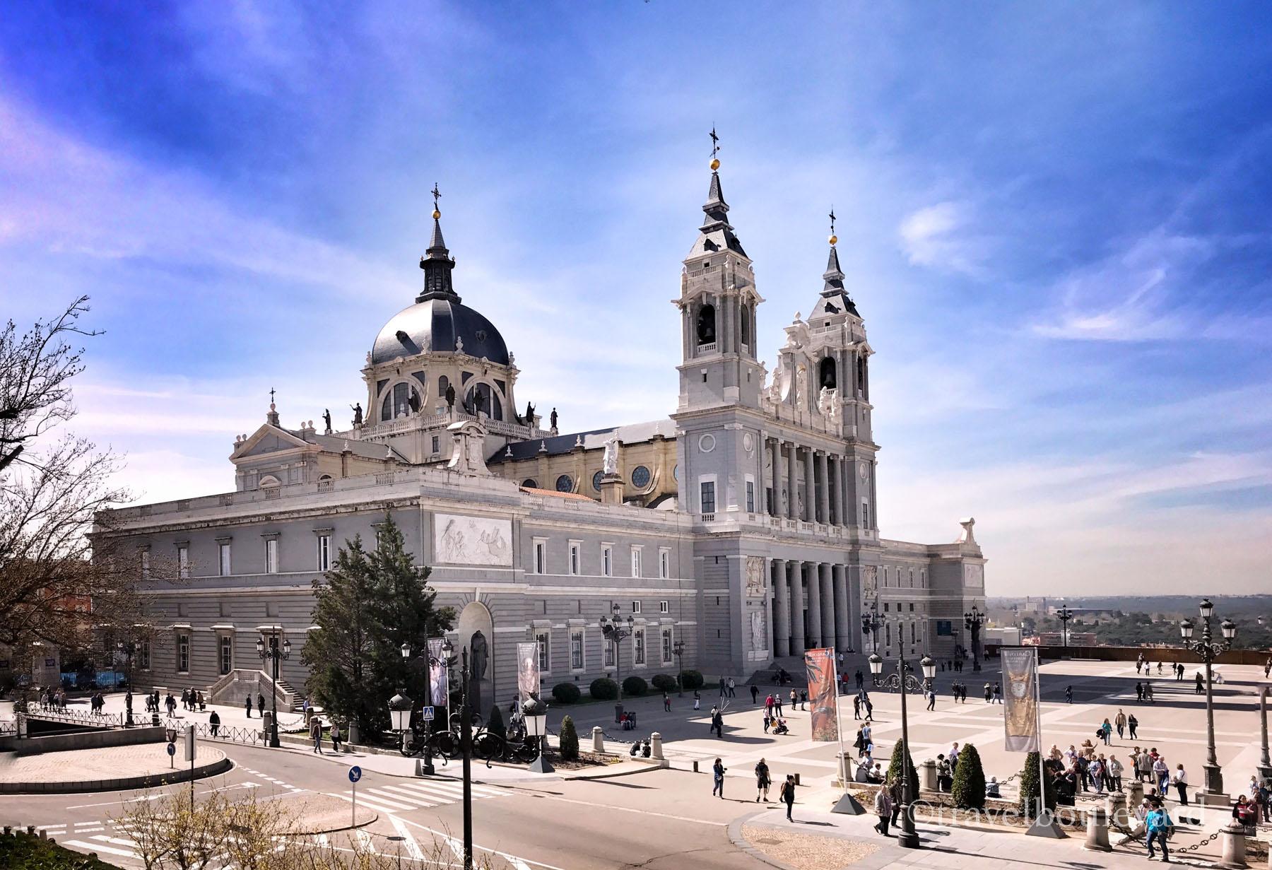 Almudena kathedraal Madrid