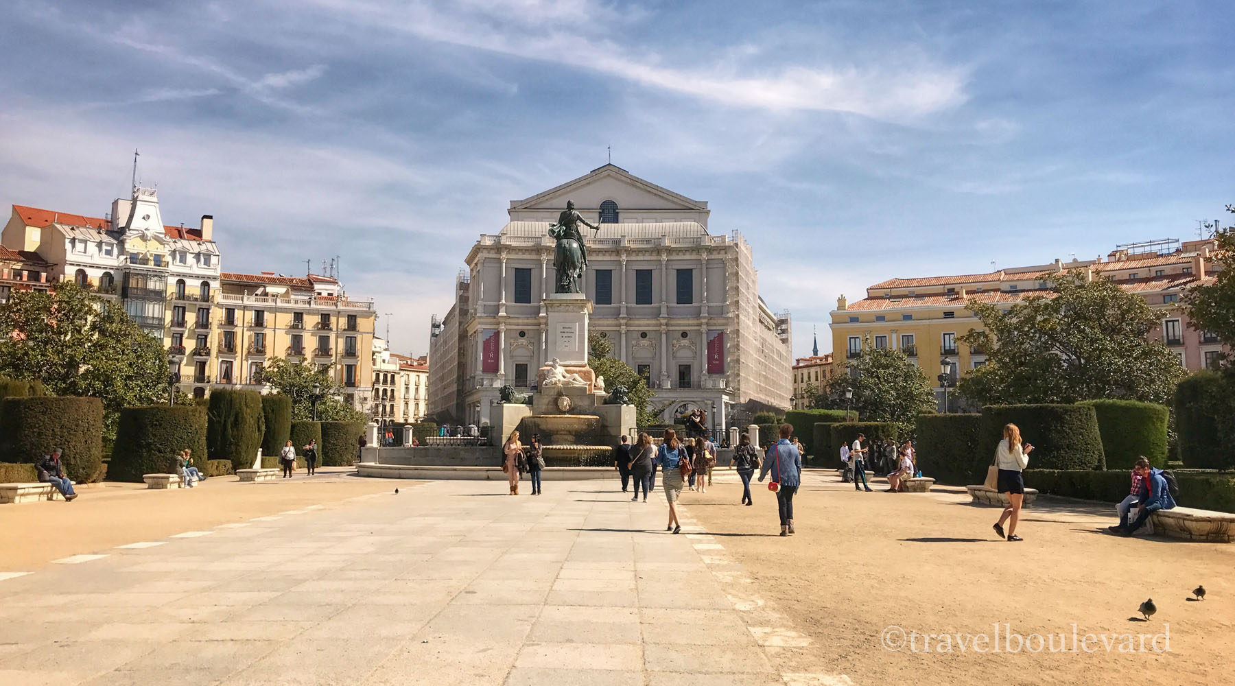 Plaza de Orente Madrid