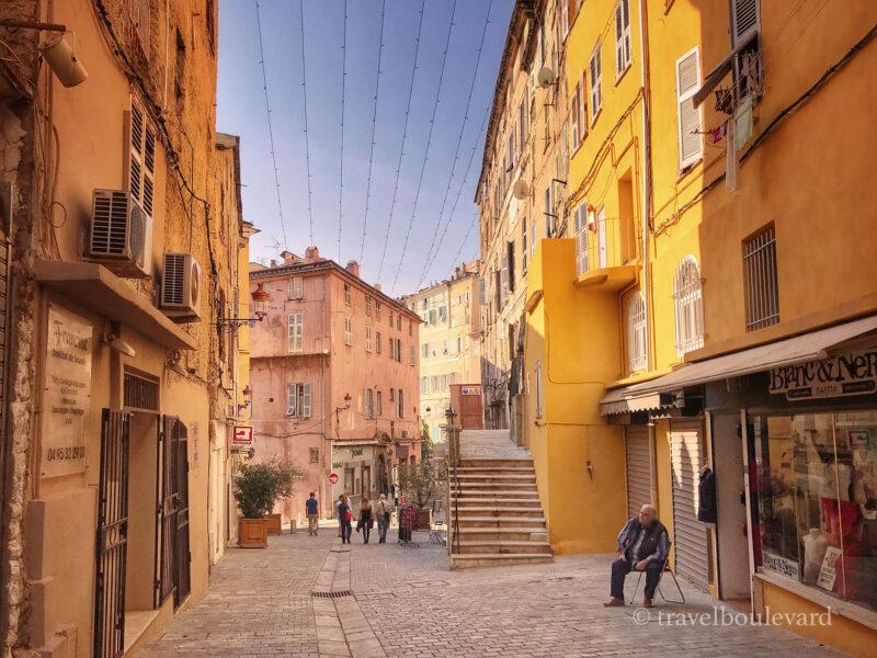 Bastia in Corsica