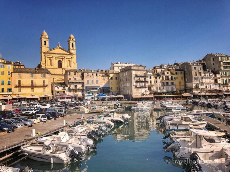 Bastia in Corsica.