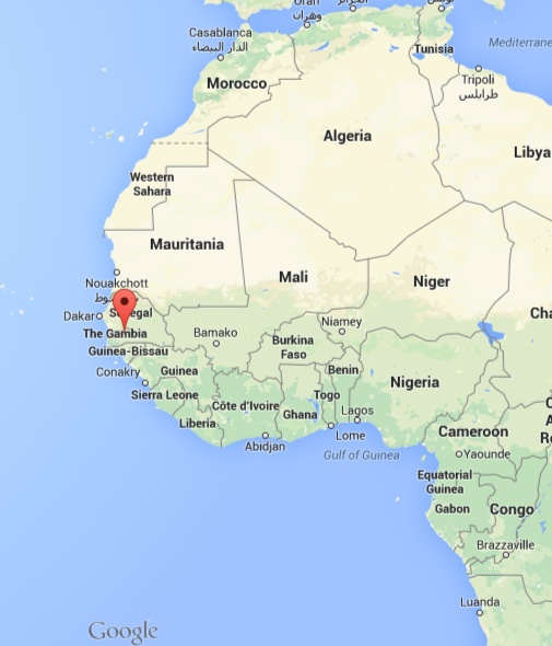 Gambia On Africa Map.Things To Know When Visiting A School In The Gambia Travelboulevard