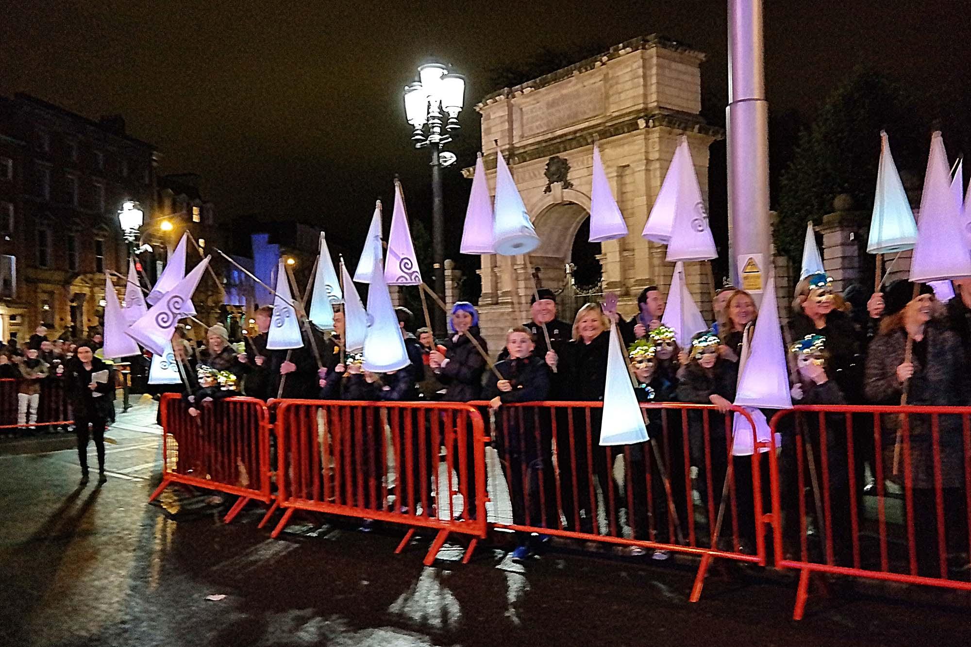 dublin procession light
