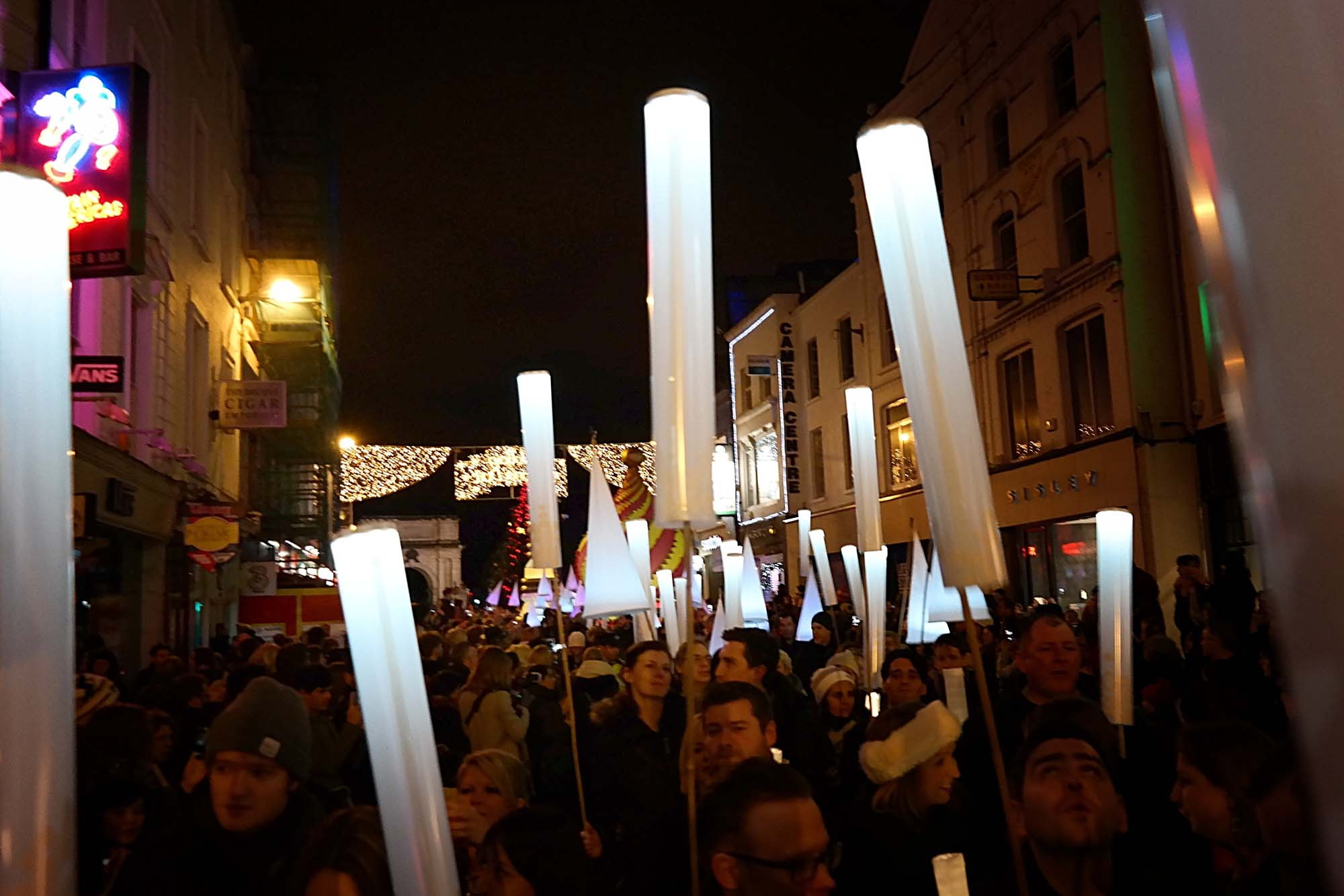 dublin procession light