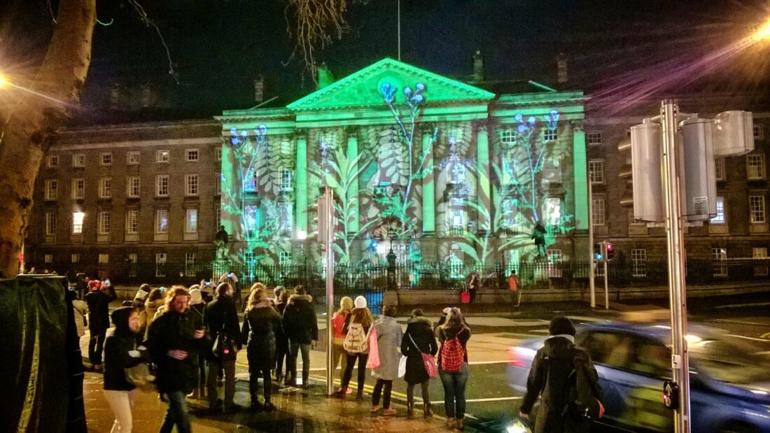 Dublin College Green Luminosity