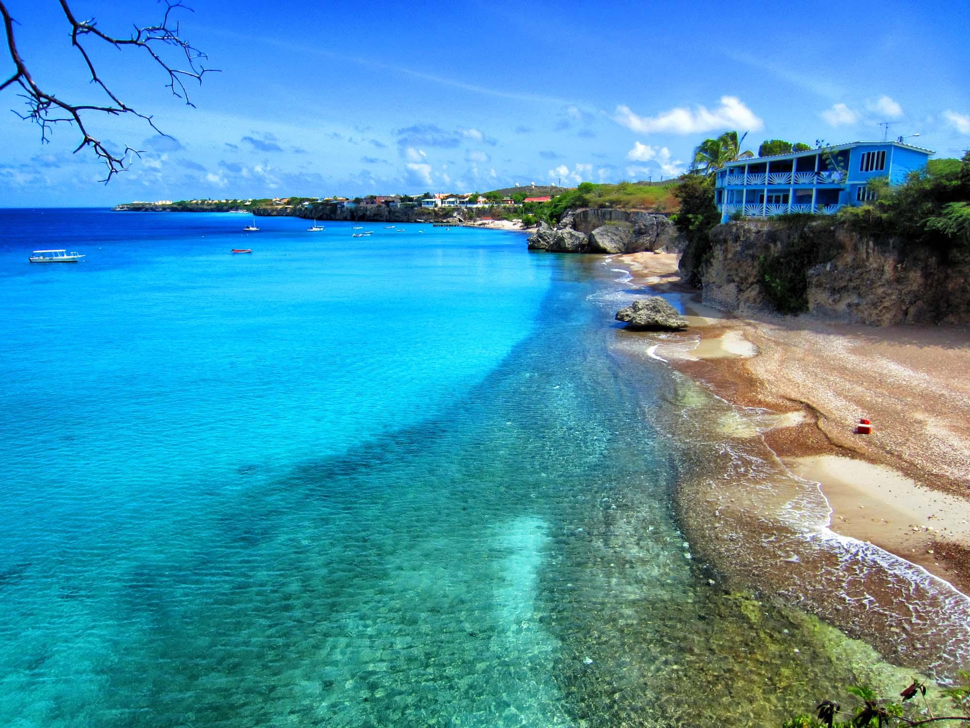 mooiste stranden van Curaçao playa forti