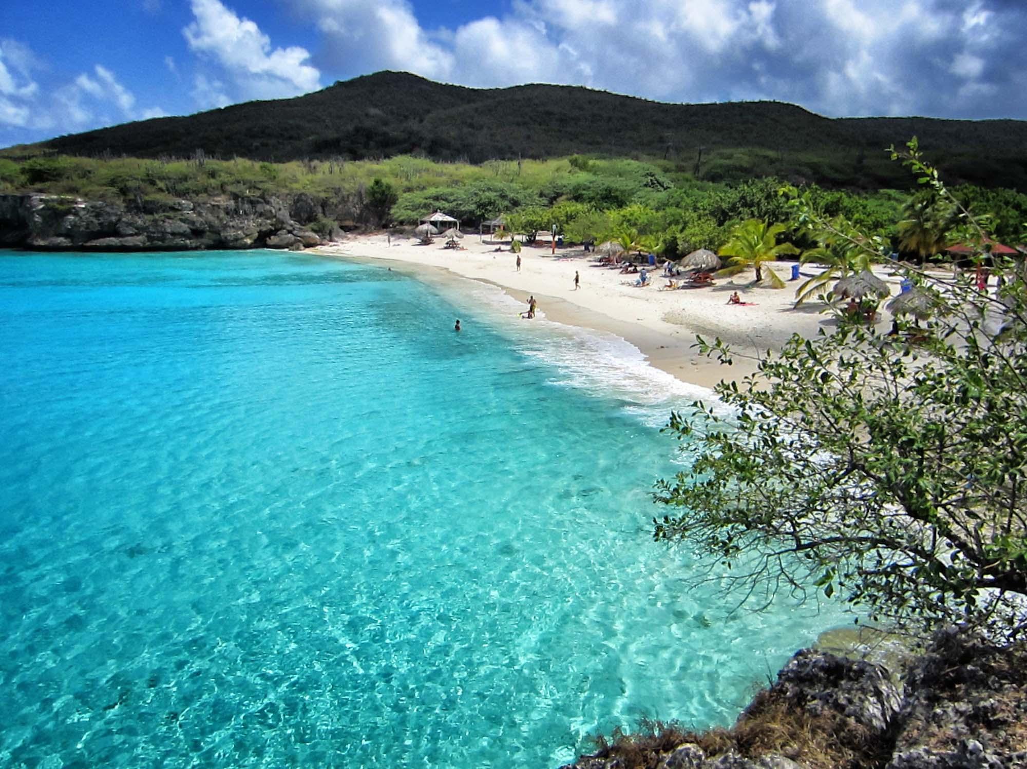 mooiste stranden van Curaçao knip beach