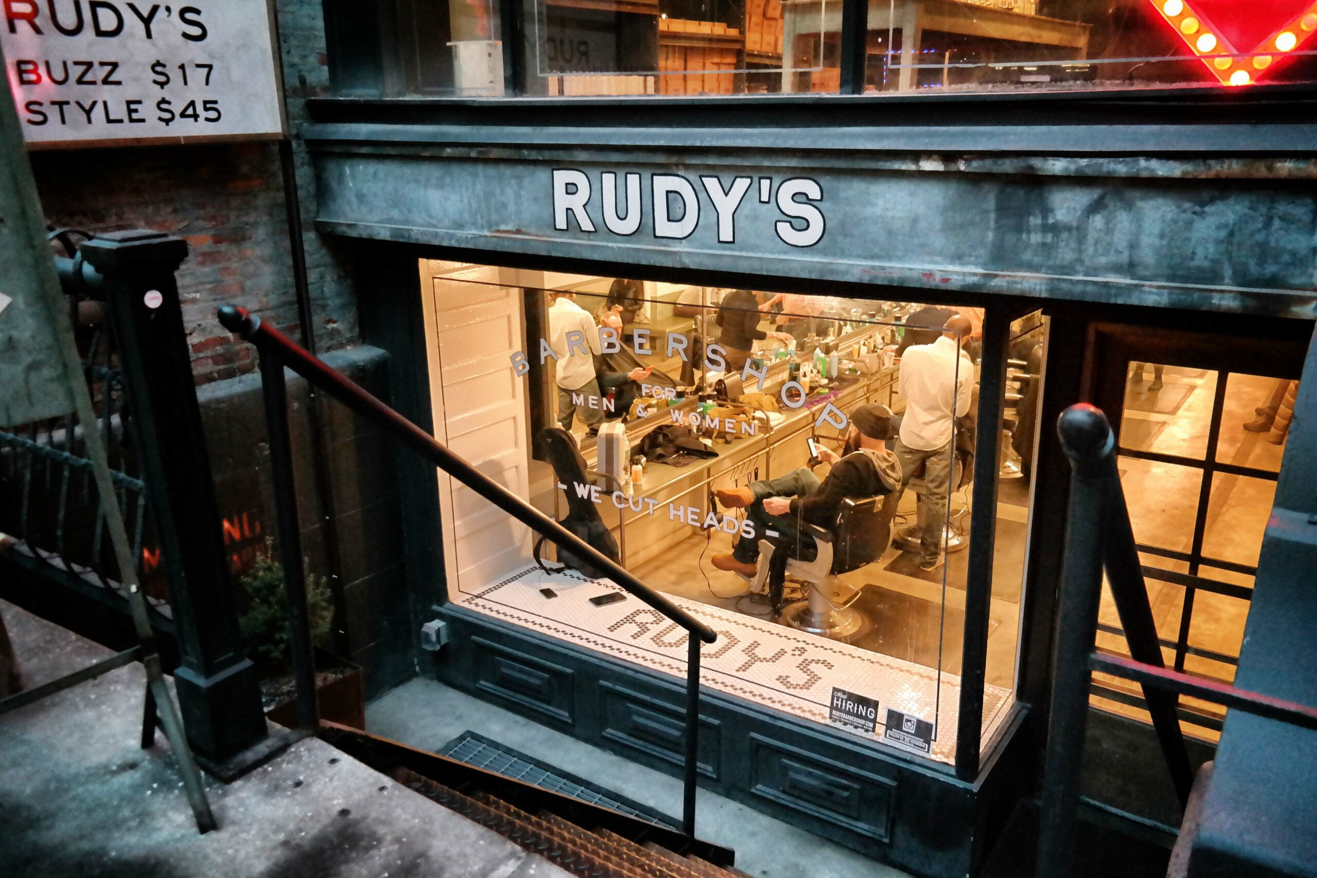 Ace Hotel Rudy's Barbershop