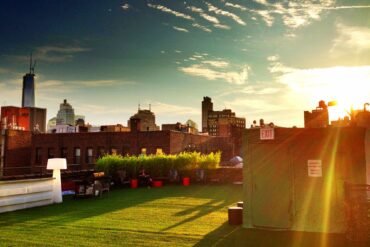 Bowery House roof terrace