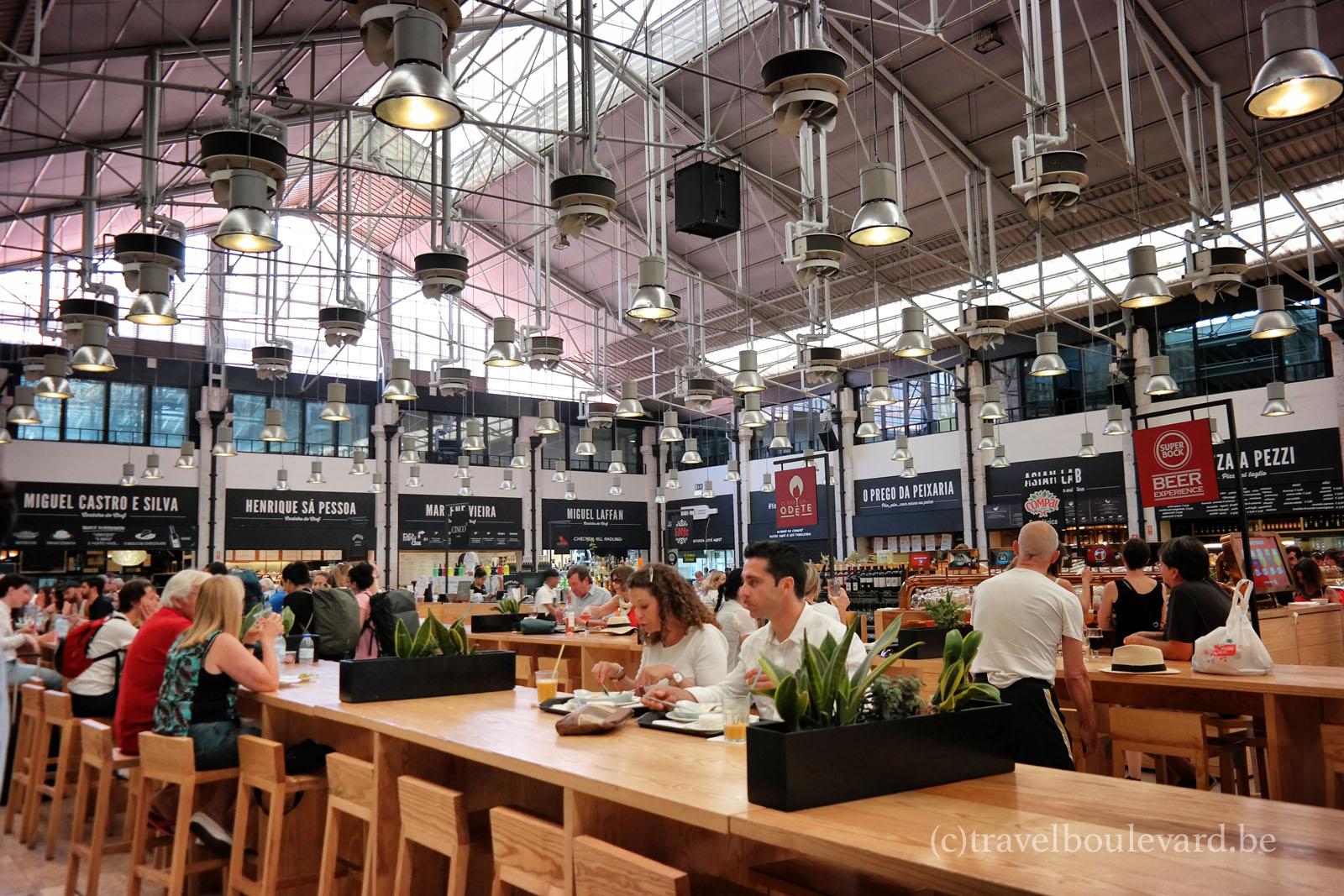 lisbon food market