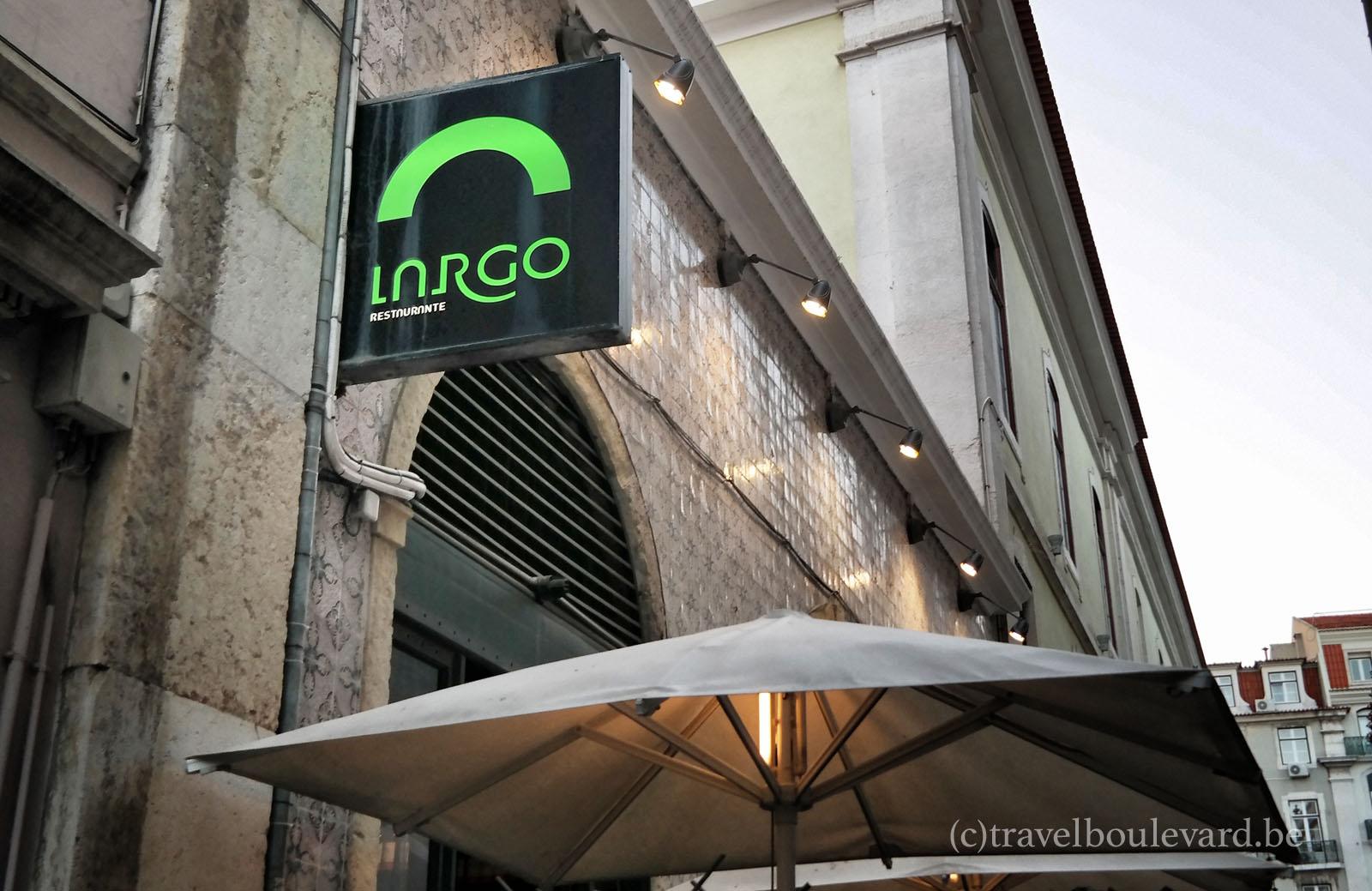 restaurant largo lisbon