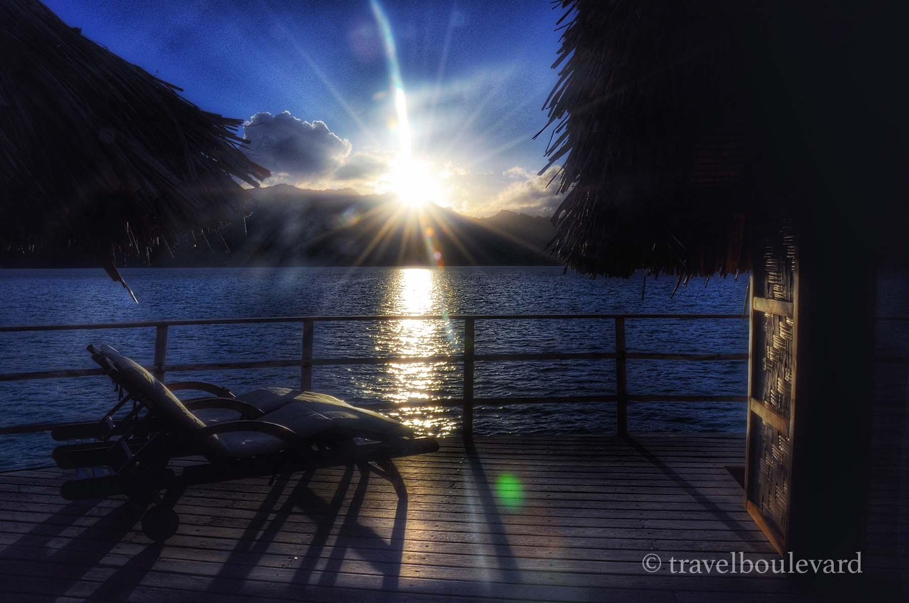Taha'a sunset