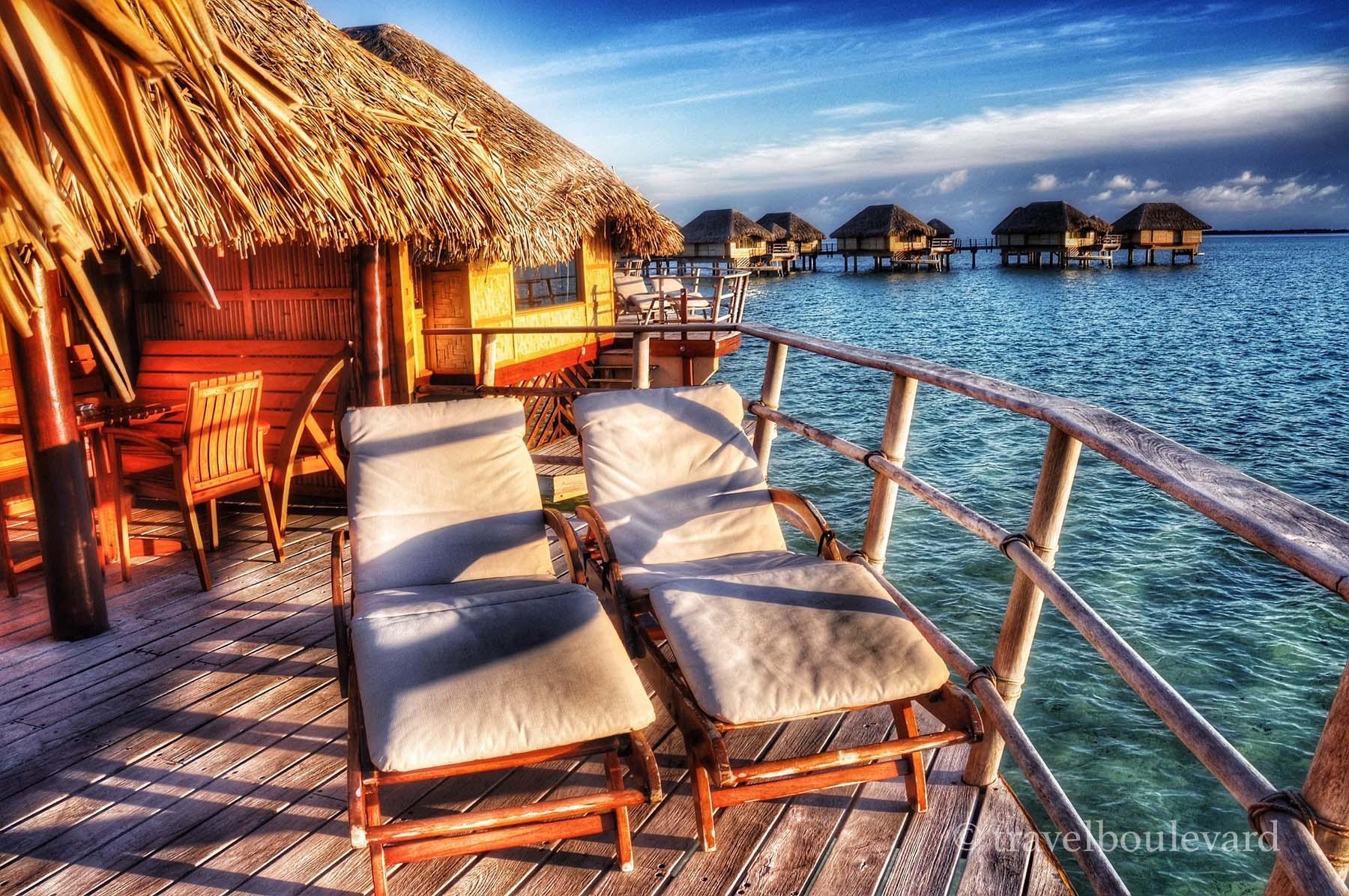 Taha'a over water villa