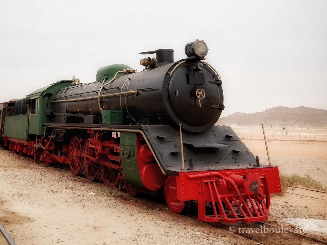 Jordanië trein