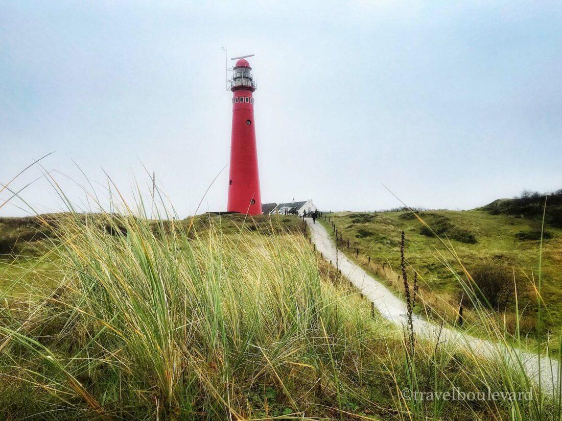 De rode vuurtoren, Schiermonnikoog
