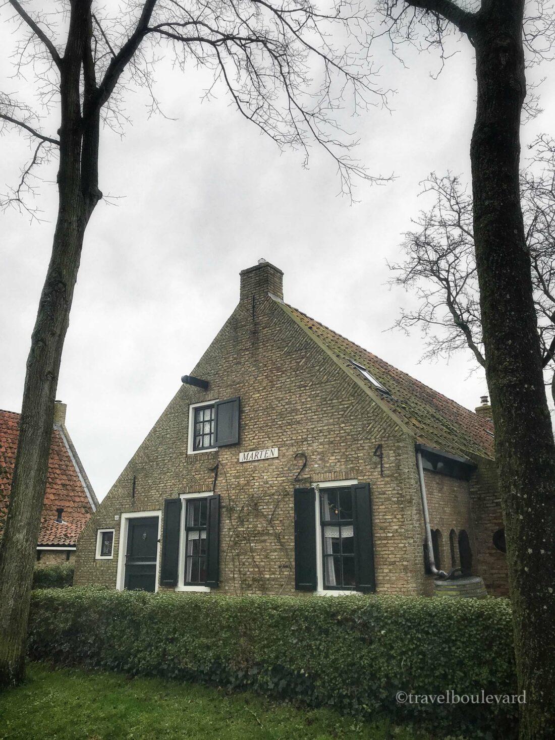 Het oudste huisje van Schiermonnikoog