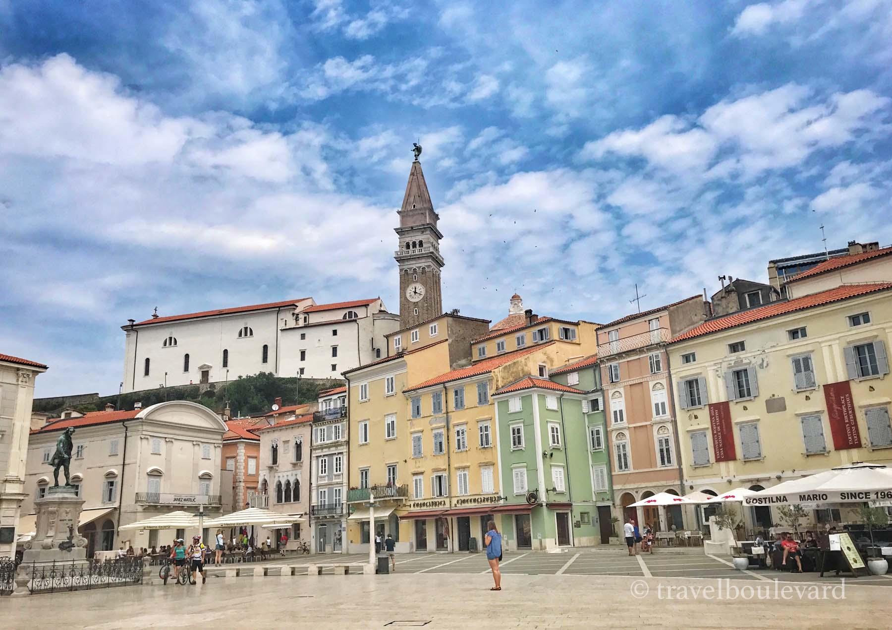 Slovenië Piran bezoeken