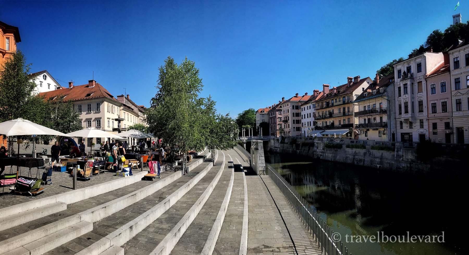 Slovenië tips hoofdstad Ljubljana